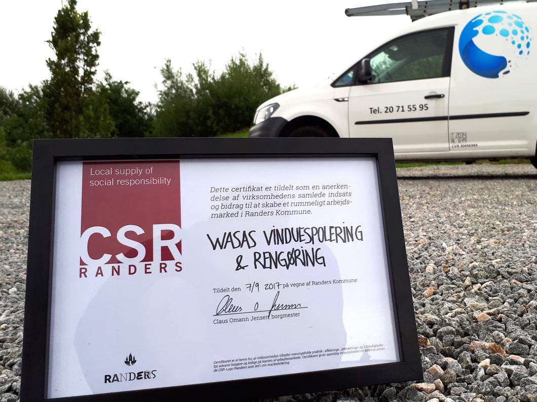 CSR Certifikat